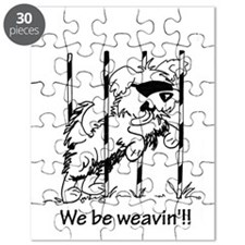 We be weavin'!!  Puzzle