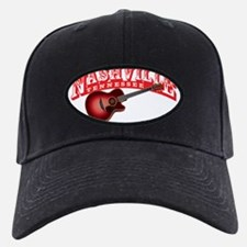 Nashville Guitar Baseball Hat