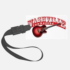 Nashville Guitar Luggage Tag