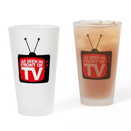 AsSeenInFrontOfTv_ lites Drinking Glass