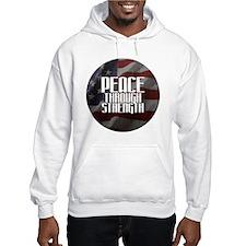 Peace Through Stength Hoodie