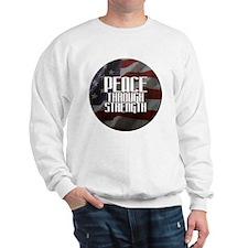 Peace Through Stength Sweatshirt