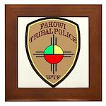 Fakowi Tribal Police Framed Tile