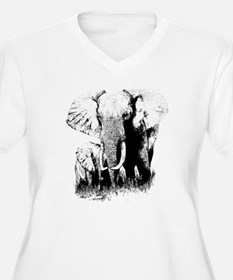 elephats_mom_baby T-Shirt