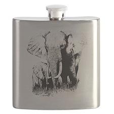 elephats_mom_baby Flask