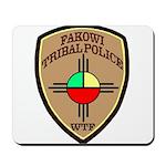 Fakowi Tribal Police Mousepad