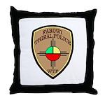 Fakowi Tribal Police Throw Pillow