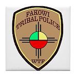 Fakowi Tribal Police Tile Coaster