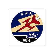 """VU-6 Square Sticker 3"""" x 3"""""""
