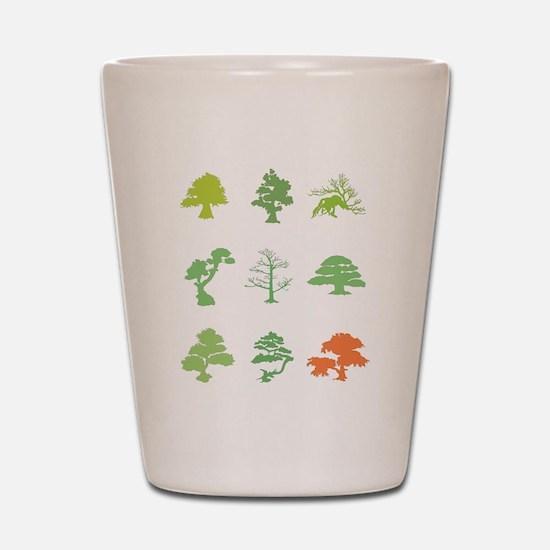 Bonsai Trees Shot Glass