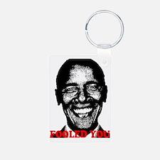 Obama Fool Keychains