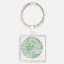 Creation Story Square Keychain