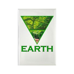 Earth Element Rectangle Magnet
