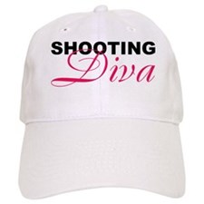 8x10_shooting_diva Baseball Cap