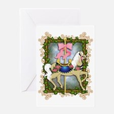 The Flower Carousel Greeting Card