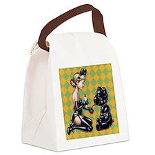 subbi teddy Canvas Lunch Bag