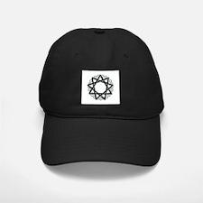 Nonagram or 9 Pointed Star Baseball Hat