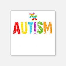 "Autism Thing -dk Square Sticker 3"" x 3"""