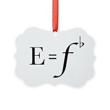 e=fb Ornament