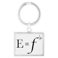 e=fb Landscape Keychain