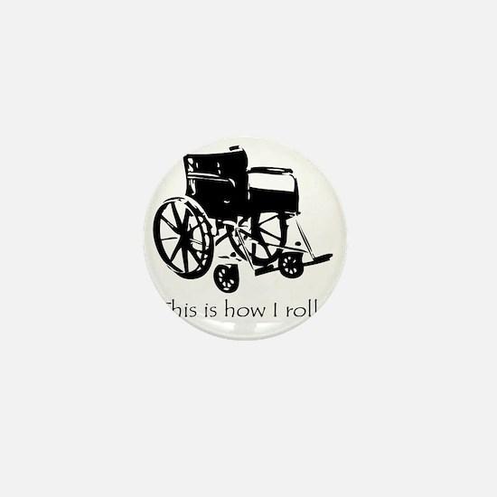 Wheelchair Mini Button