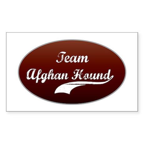 Team Afghan Rectangle Sticker
