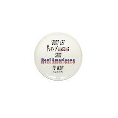 Faux Klingons Mini Button (10 pack)