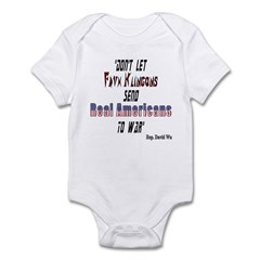 Faux Klingons Infant Bodysuit