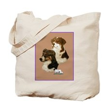 Australian Shepherd Pair Tote Bag