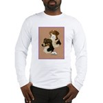 Australian Shepherd Pair Long Sleeve T-Shirt