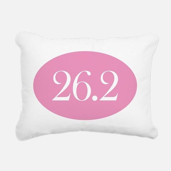 26 point 2 pink Rectangular Canvas Pillow