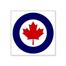 "canada_air_force_roundel Square Sticker 3"" x 3"""