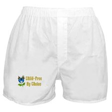 Child-Free By Choice Boxer Shorts
