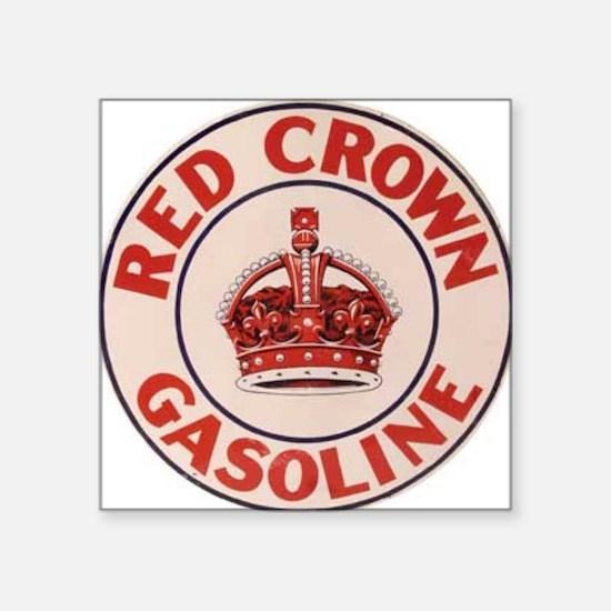 "redcrown Square Sticker 3"" x 3"""