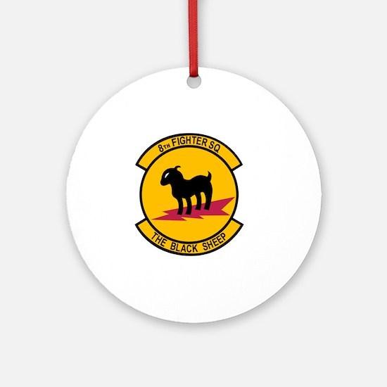 8th_Fighter_Squadron Round Ornament