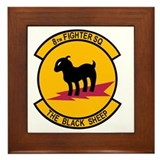 8th tactical fighter squadron Framed Tiles