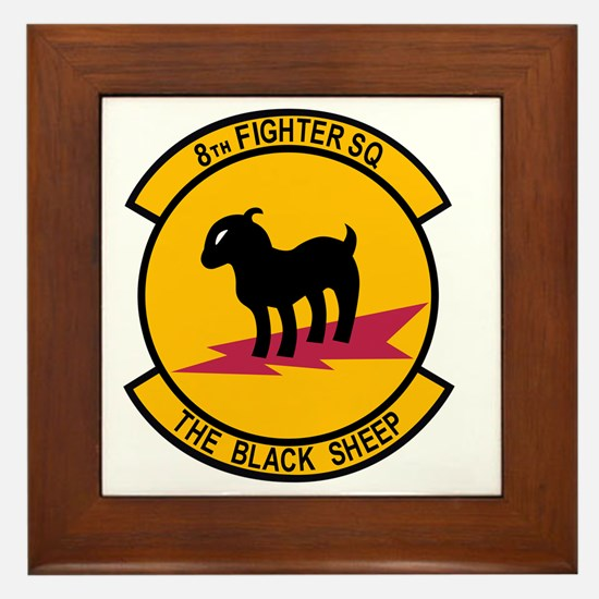 8th_Fighter_Squadron Framed Tile