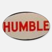 2-humble Sticker (Oval)