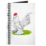 White d'Uccle Rooster Journal