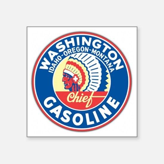 "washington Square Sticker 3"" x 3"""