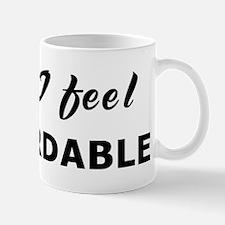 Today I feel discardable Mug