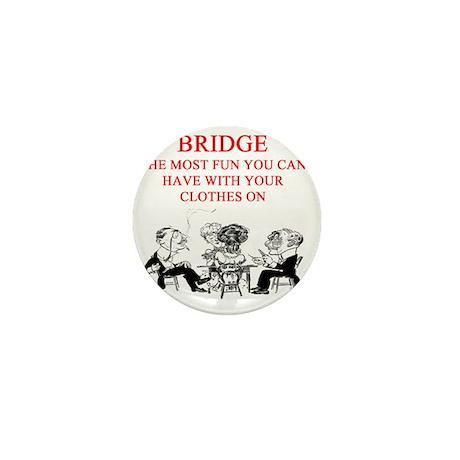 bridge joke Mini Button