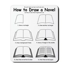 How to Draw a Novel Mousepad