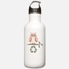 GiveAHootRecycleDkT Water Bottle