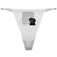 you_made_me_what_I_am_today_rot Classic Thong