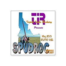 """SpudRoc-15 Square Sticker 3"""" x 3"""""""