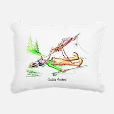 Casting Accident Rectangular Canvas Pillow
