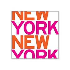 """C-300 (NY NY) Square Sticker 3"""" x 3"""""""