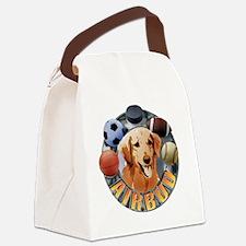 Air Bud Color Logo Canvas Lunch Bag
