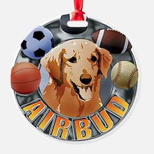 Air Bud Color Logo Ornament